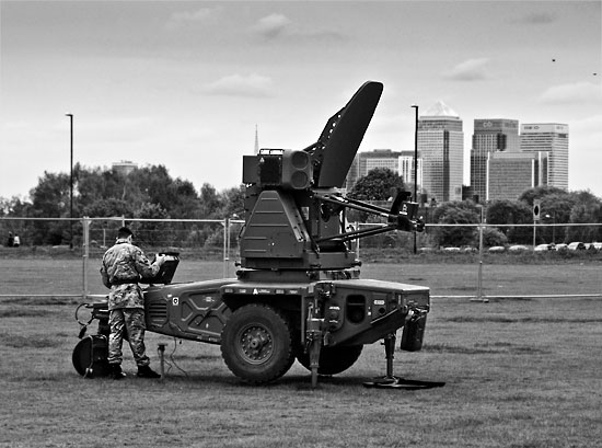 Missiles on Blackheath 2